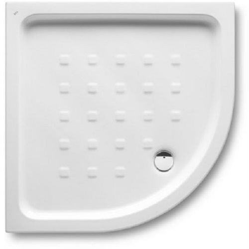 Roca Easy Anti-Slip Quadrant Shower Tray - 750mm x 750mm - White